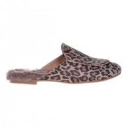 Papuci Chiara Blana Naturala